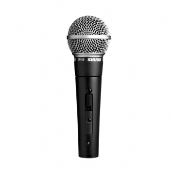 Shure SM58-SE Dynamic Vocal Microphone with On/Off Switch